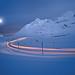Rhätische Bahn auf dem Berninapass, foto: Switzerland Tourism
