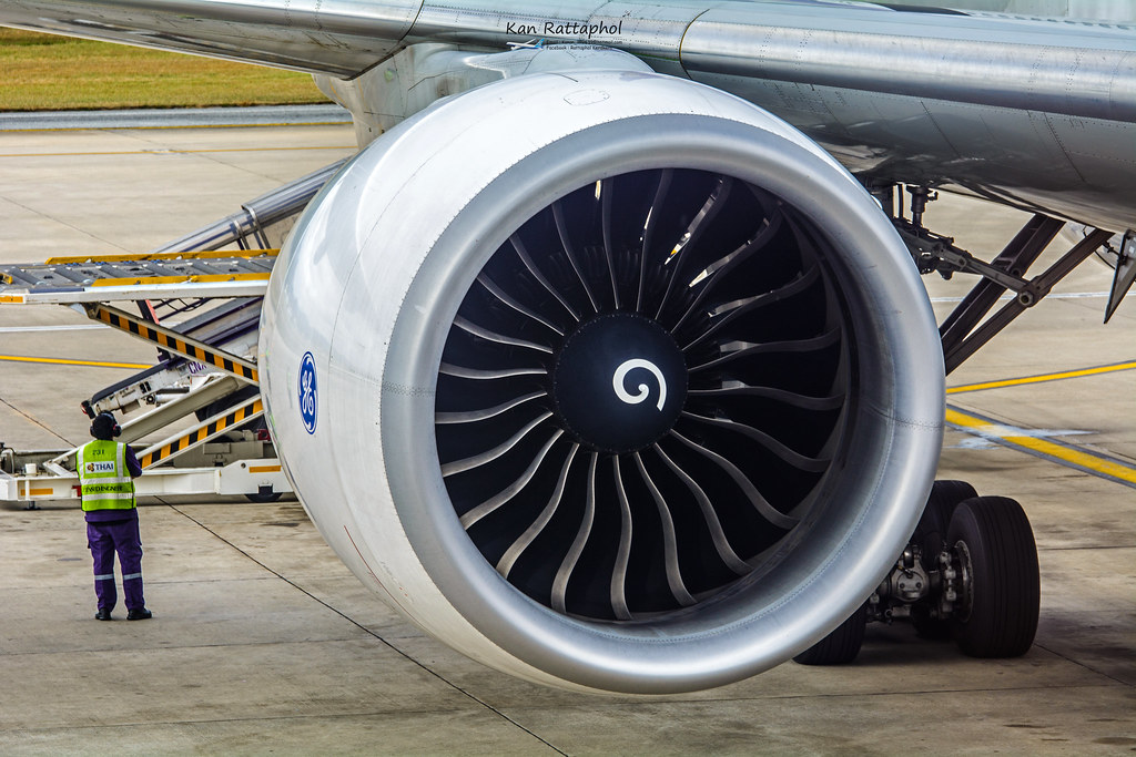 General Electric GE90-115B | Rattaphol Kerdkaen | Flickr