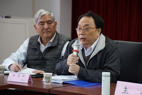 圖03台灣中油公司人資處馮處長蒞會報告