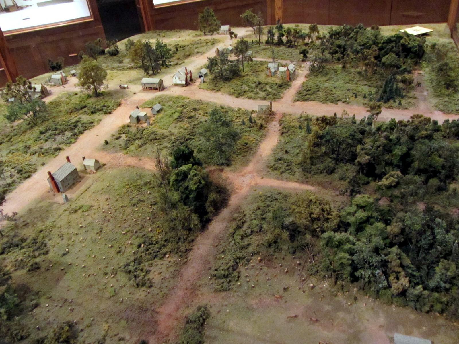 20110925 07 Early Carolina Settlement diorama