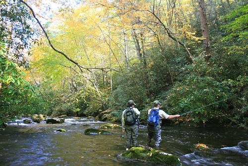 Great Smoky Mountains National Park Fishing Map & Guide ...