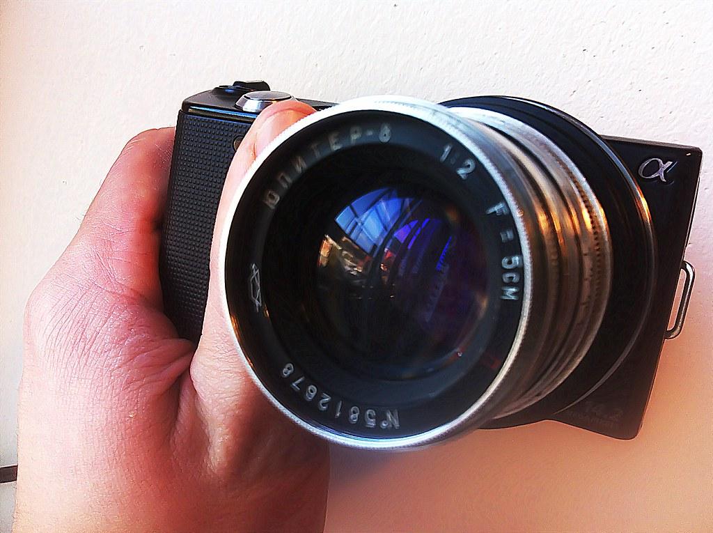 Jupiter-8 & Nex | Jupiter-8 lens with Sony Nex-5 | Sondre