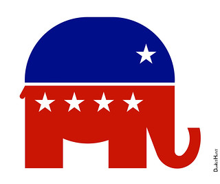 Republican Elephant - Icon | by DonkeyHotey