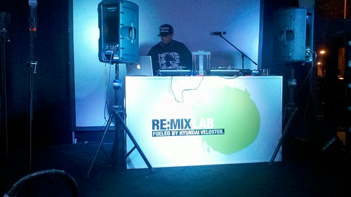 DJ Premier Spinning at The Hyundai RE:MIXLAB in New York | by Metal Lungies
