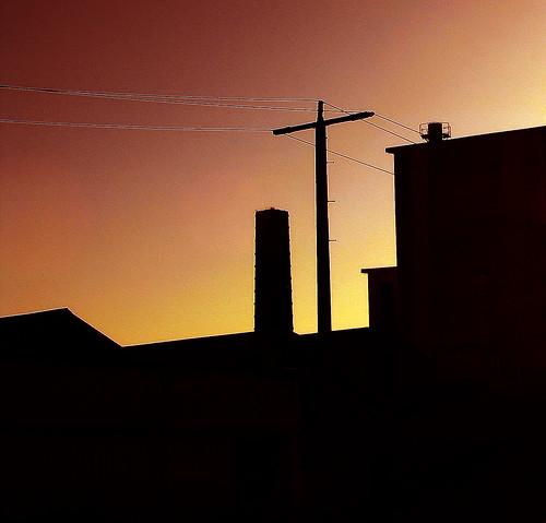 light sunset sky silhouette canon industrial australia victoria vic canonpowershots2is canonpowershot gippsland warragul phunnyfotos