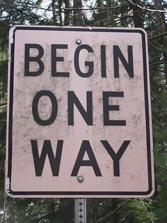 Begin One Way   by andyarthur