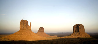 Sunset - Monument Valley Navajo Tribal Park   by epiøne