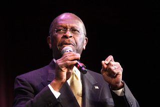 Herman Cain | by Gage Skidmore