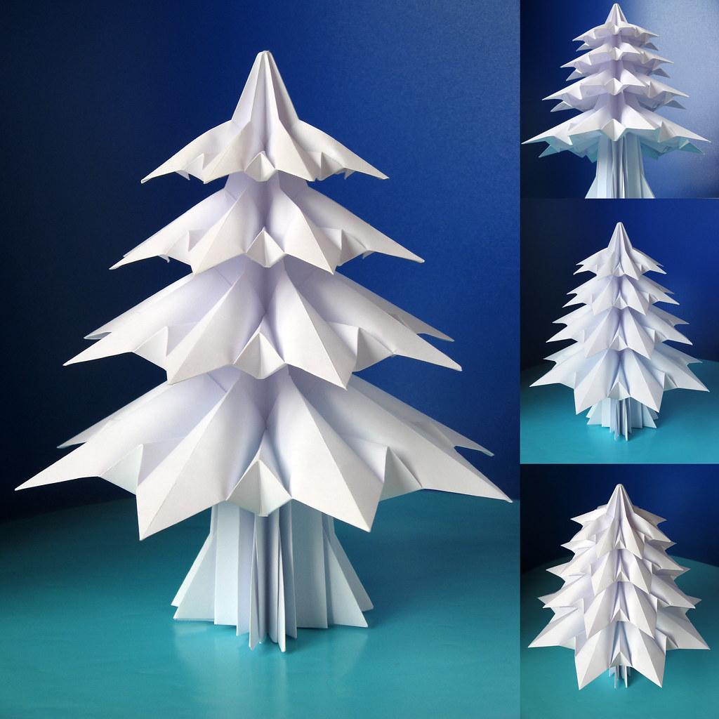 Easy Paper Tree - Origami Christmas Tree Tutorial (Henry Phạm ... | 1024x1024
