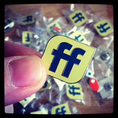 365.299b And these are our limited edition #fullfrontalconf nickel badges. | by remysharp