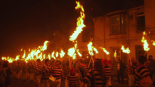 Commercial Square Bonfire Society Grand Procession, Lewes