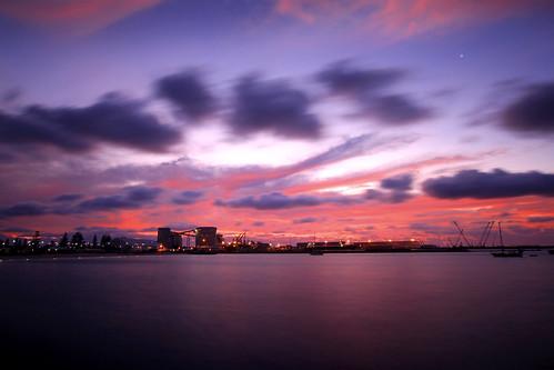 sunset port dusk wideangle westernaustralia sigma1020mm geraldtonport canon7d geraldtonwa midwestwa