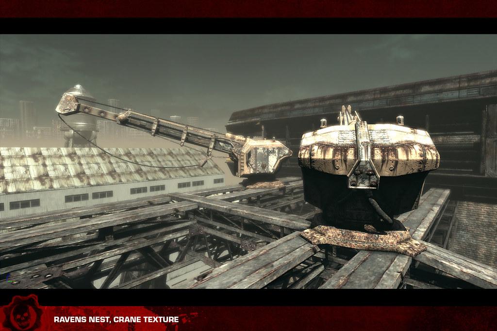 Gears of War 3: textures, Ravens Nest crane | Chris Bartlett | Flickr