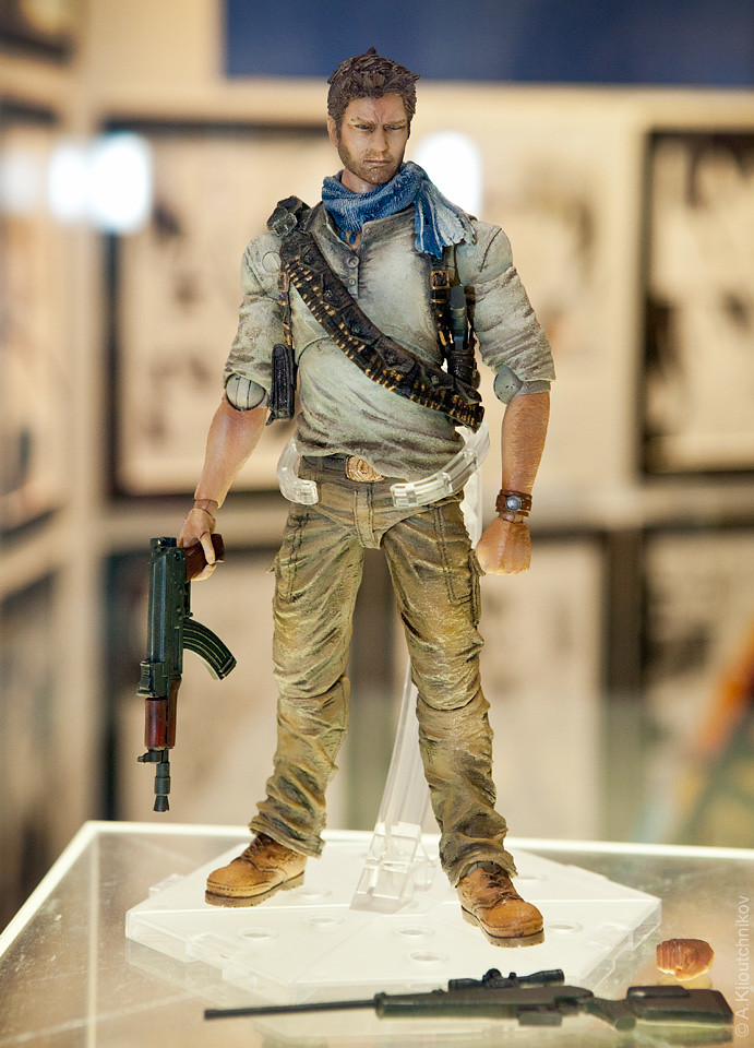 Uncharted 3 Nathan Drake Play Arts Kai By Square Enix Flickr