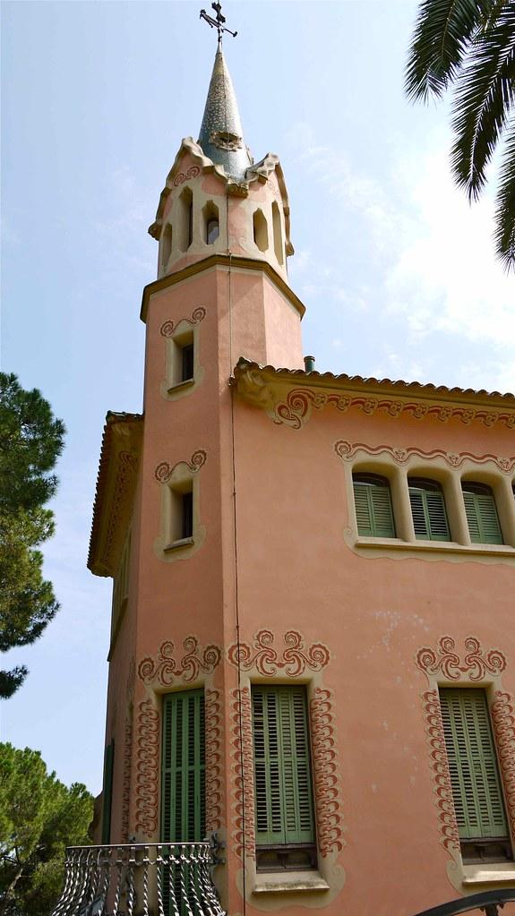 Casa Museo Gaudi.P1100340 Barcelone Parc Guell Casa Museu Gaudi La Mais Flickr