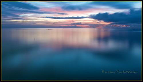 sea sun nature landscape
