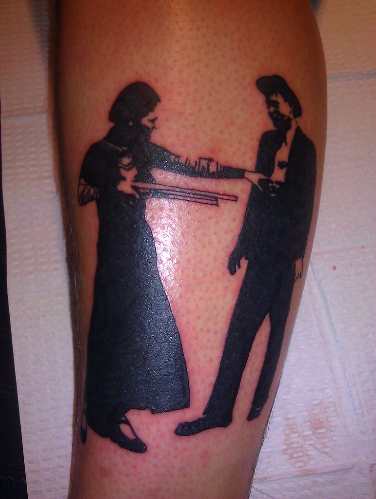 Bonnie And Clyde Tattoo: Bonnie And Clyde Tattoo By Wes Fortier