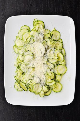 Zucchini carpaccio | by GF in the City