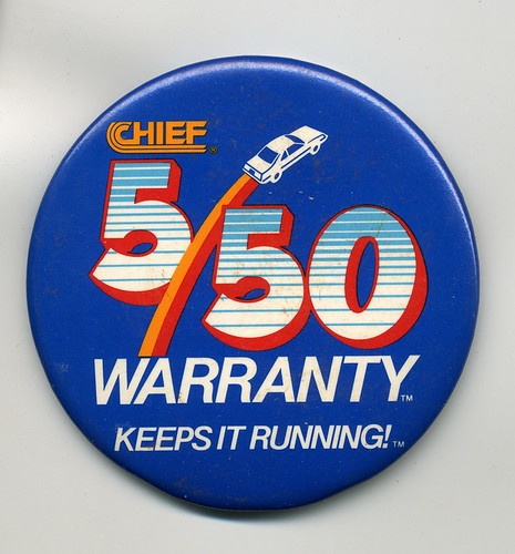 Chief Auto Parts - 5/50 warranty | by boyjohn2