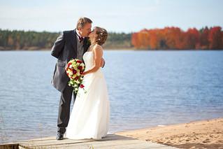 Autumn coloured wedding   by sebbesula