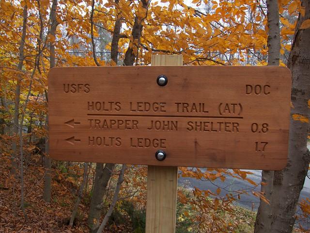 0:00:00 (0%): sign hiking newhampshire appalachiantrail holtsledge