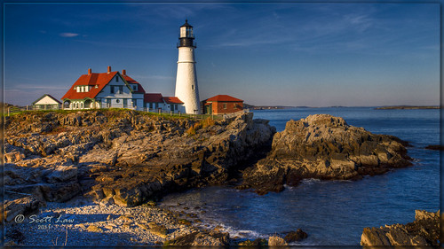 ocean sea usa lighthouse water portland rocks maine hdr capeelizabeth portlandhead lighthousetrek