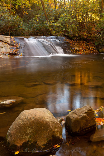 autumn usa fall nature water georgia waterfall outdoor clarkesville rabuncounty johncothron wildcatcreekroad cothronphotography wildcatwaterslide