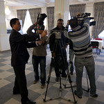 The first PSI Communicators' Action Network event was held in Tunisia in the autumn of 2011. This initiative combined media skills training, on-location reporting and solidarity exchange.