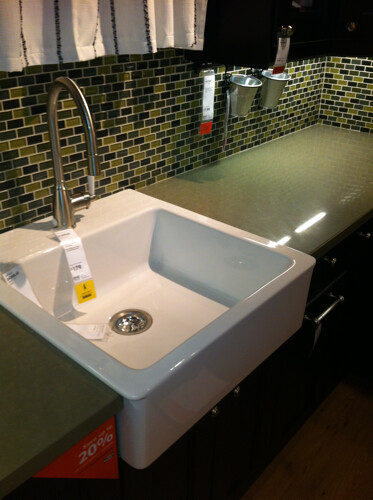 Ikea Farmhouse Sink Domsjo.Ikea Domsjo Farmhouse Sink I Love This Modern Version Of A