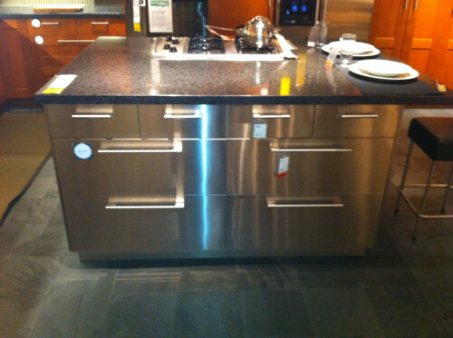 Ikea Stainless Steel Kitchen Island | This is a great indust ...