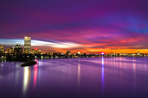 longexposure bridge cambridge sunset boston skyline night canon river ma photography long exposure mark charlesriver charles ii 5d bostonma longfellow longfellowbridge bostonskyline canon35mmf14l canon5dmarkii