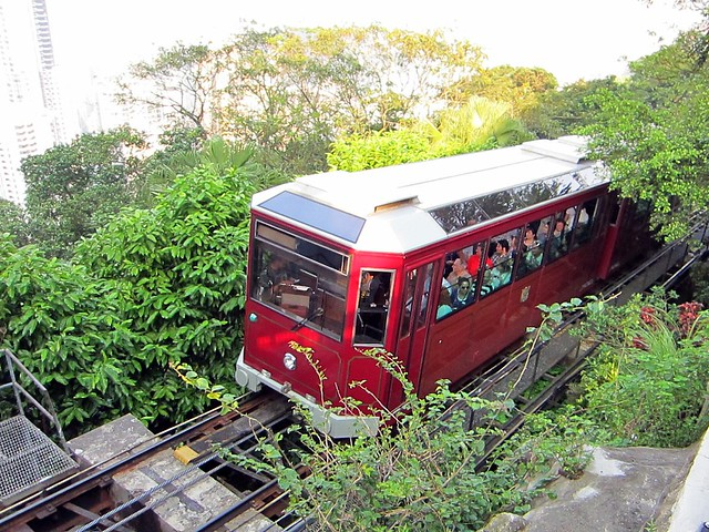 Peak Tramway Hong Kong