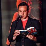 Unbound Words Per minute | Alan Bissett reads during Unbound on Words Per Minute night