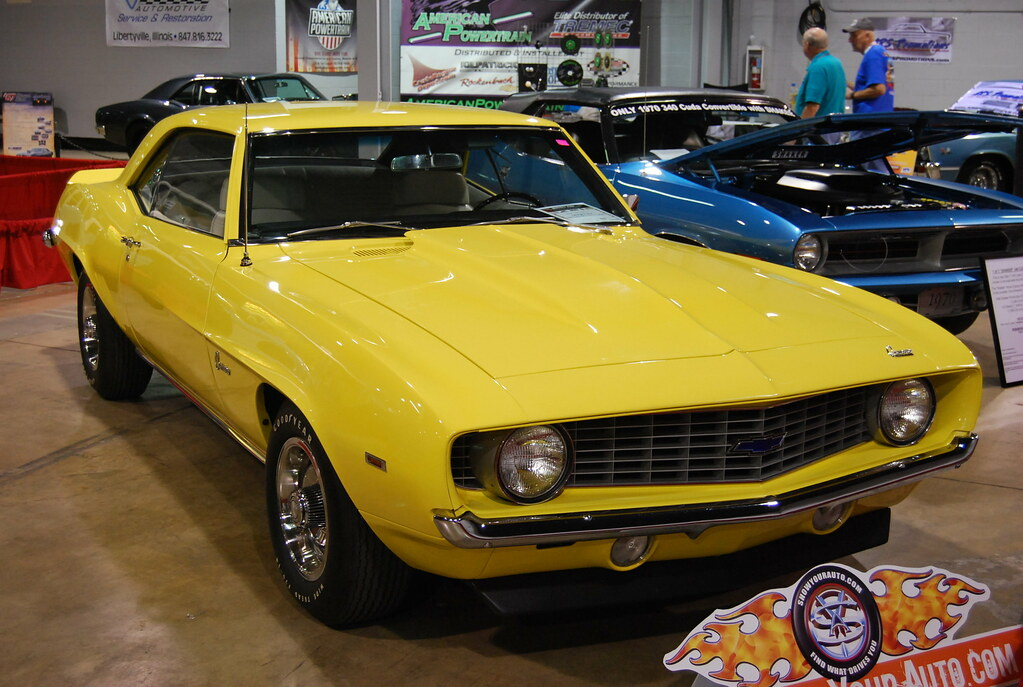 1969 COPO Camaro   For sale on consignment through ShowYourA…   artistmac    Flickr