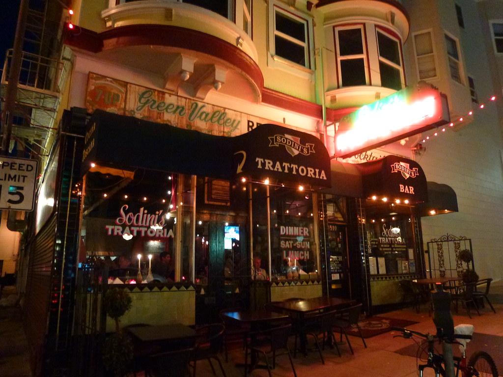 San Francisco Ca Sodini S Green Valley Restaurant Flickr