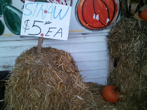 Straw for $5