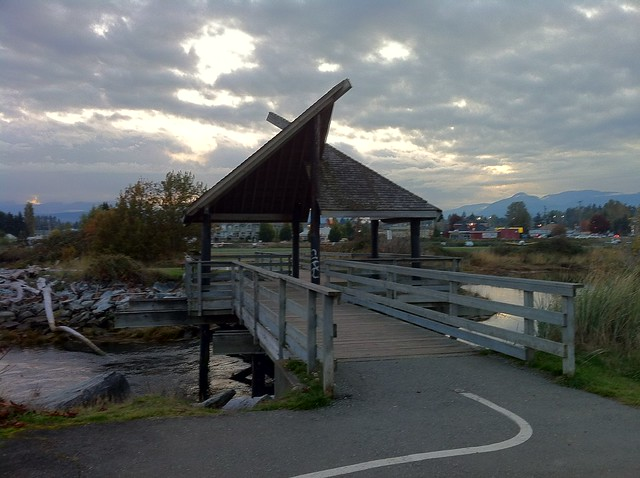 Covered Bridge at the Courtenay AIr Park