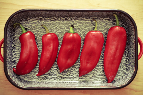 Roasting kapia peppers | by ziziadventures