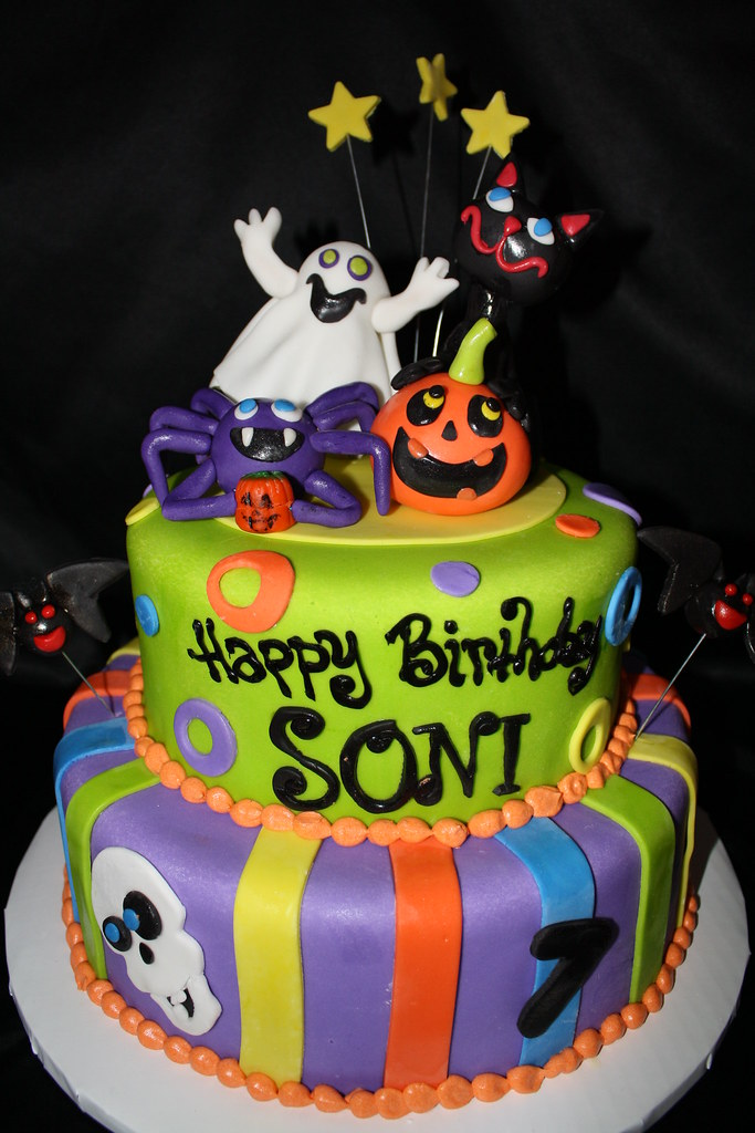 Halloween birthday cake | Busy B Cakes | Flickr
