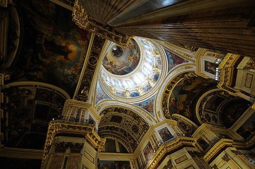 Saint Isaac's Cathedral interior | by Matěj Humpál