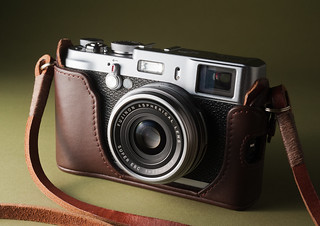 Fuji X100 with Gordy's Camera Strap | by David W Oliver