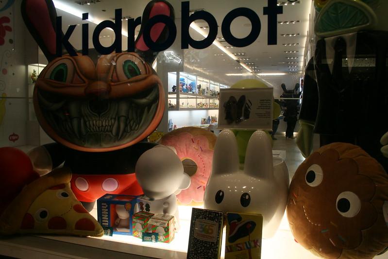 Unstuck @ Kidrobot NYC