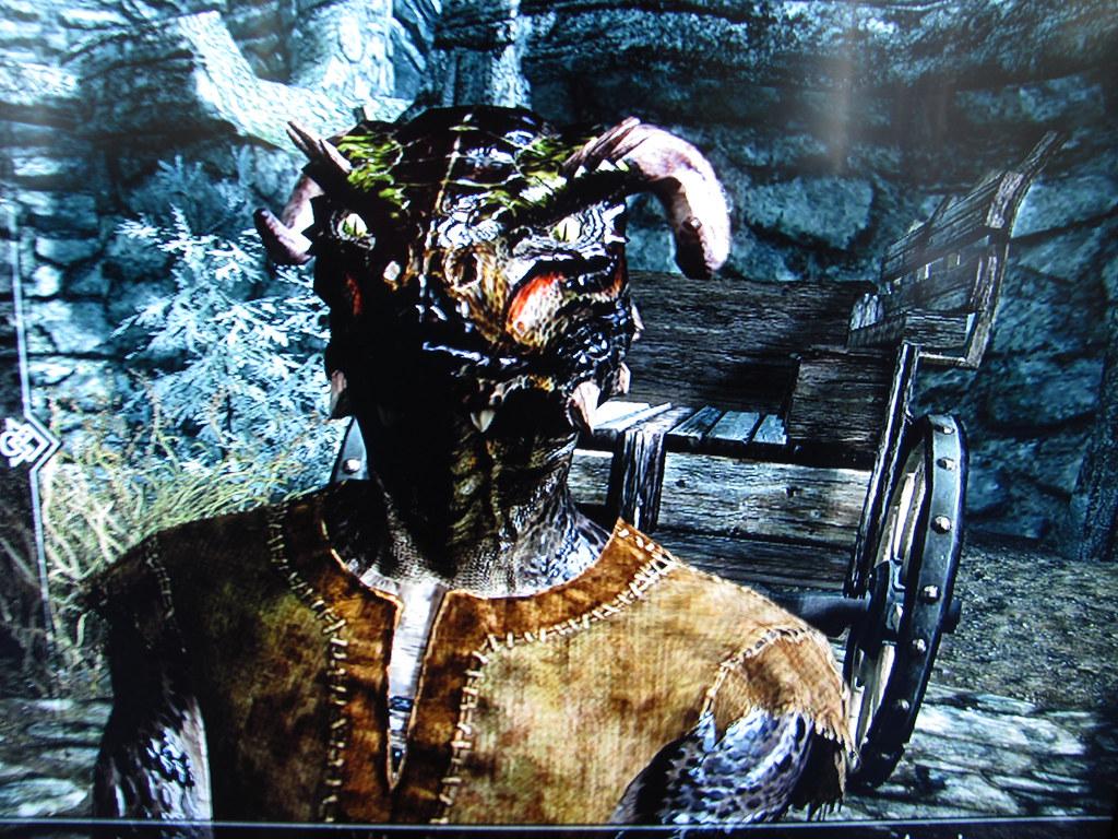My Argonian called Thagirion in Skyrim 4 | My wife Thagirion