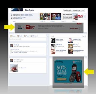 Facebook Timeline Ads | by ROIHUNTER
