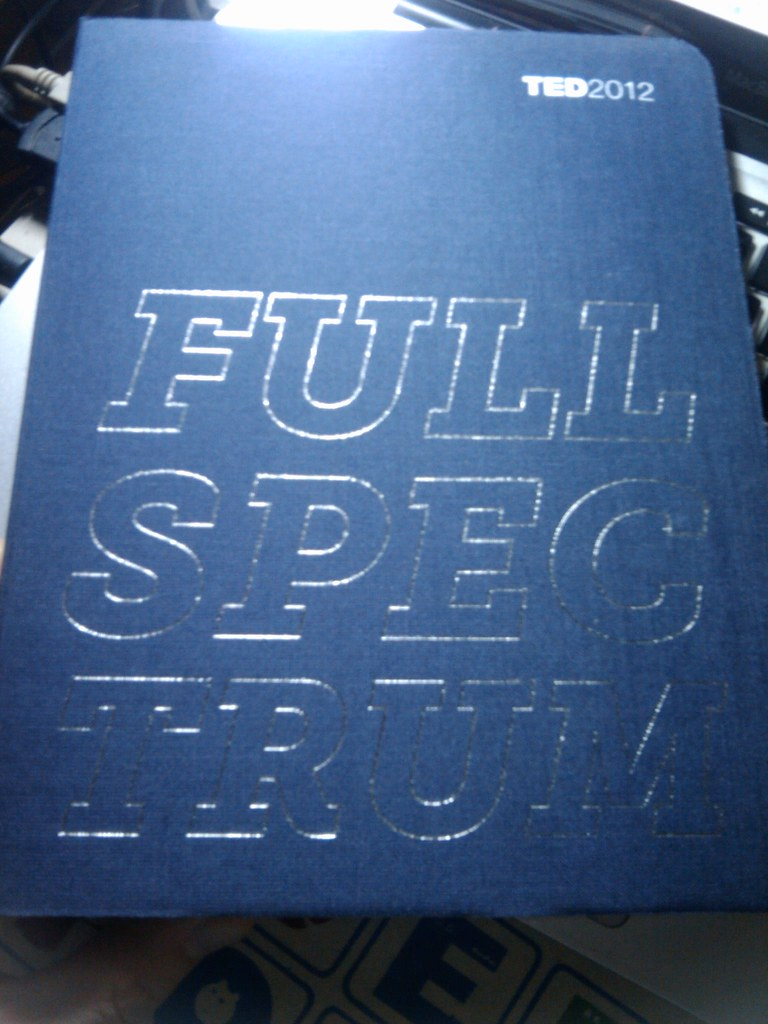 TED2012 Full Spectrum book