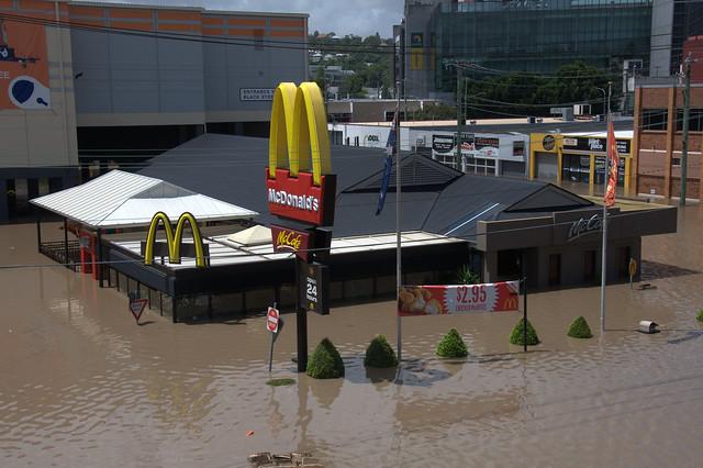 Brisbane Flood 2011 - Milton McDonalds
