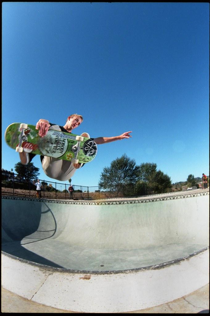 Brandon Bohle, Frontside air