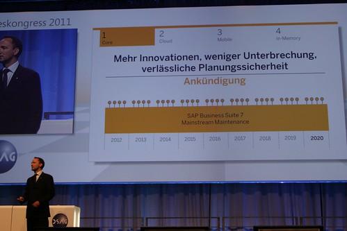 SAP Ankündigung: Mehr Innovationen, weniger Unterbrechung, verlässliche Planungssicherheit bis 2020 | by Gregor Wolf