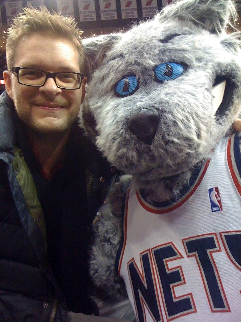 New Jersey Nets Mascot - Mini Sly