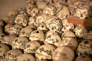 Skulls in the Hallstatt Bone Chapel | by jiuguangw